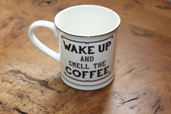 Wake up & Smell the Coffee Mug